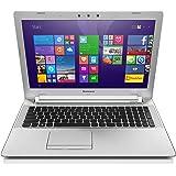 Lenovo Z51-70 39,6 cm (15,6 Zoll Full HD) Multimedia Notebook (Intel Core i7-5500U, 3GHz, 8GB RAM, 256GB SSD, AMD R9 M375 4G, DVD-Brenner, Windows 8.1) weiß
