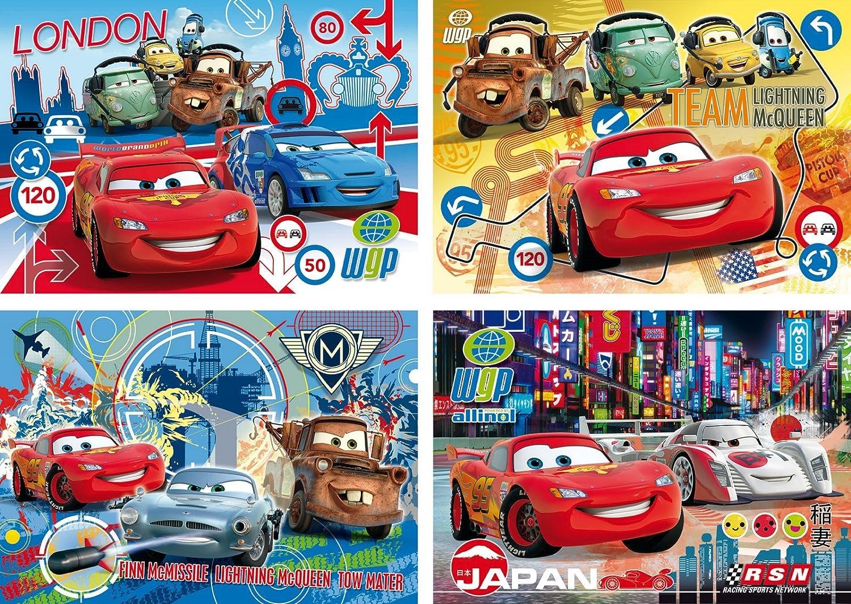 22216 - Clementoni Rahmenpuzzles 15 Teile - WD Pixar Cars 2, 15 Teile B0054L5794 Cartoons & Comics Kinderpuzzles