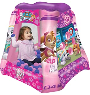 Paw Patrol Girls Ball Pit, 1 Inflatable & 20 Sof-Flex Balls, Pink