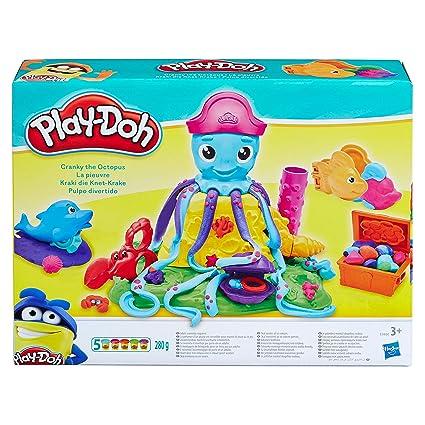 Play-Doh - Pulpo Divertidos Tentaculos (Hasbro E0800EU4): Amazon ...