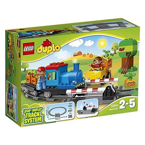 Duplo Del Para Town Trenes Lego Maquinista Conductor10810 Un TrenJuguete Los Más PequeñosIncluye Minifiguras Construcción Y De nPwk80O