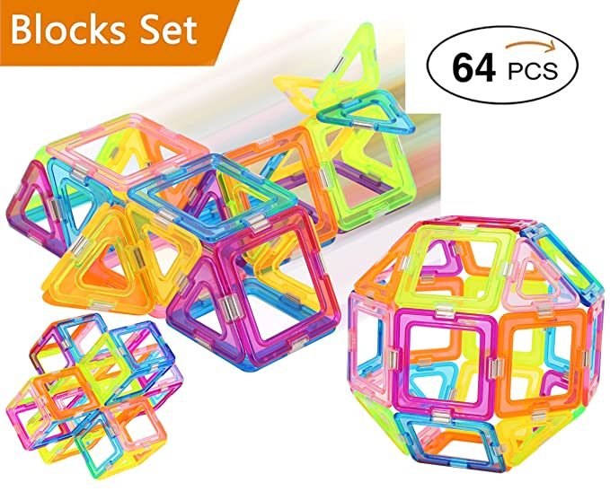 ZTOZZ Magnetic Blocks Table Game (64)