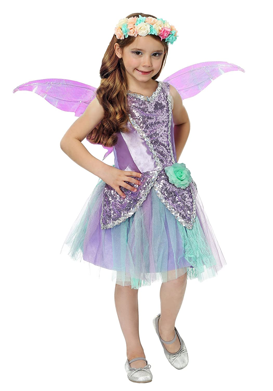 Fun Fairy Girls Fancy Dress Costume Large Fun Costumes