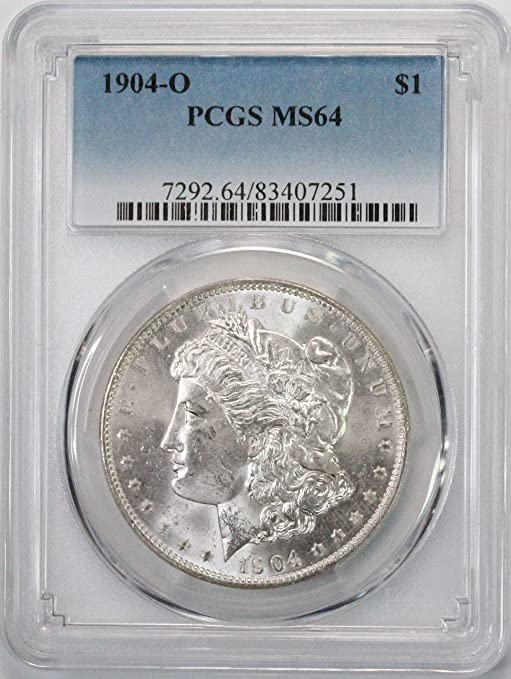 PCGS MS64 1904-O US Morgan Silver Dollar $1