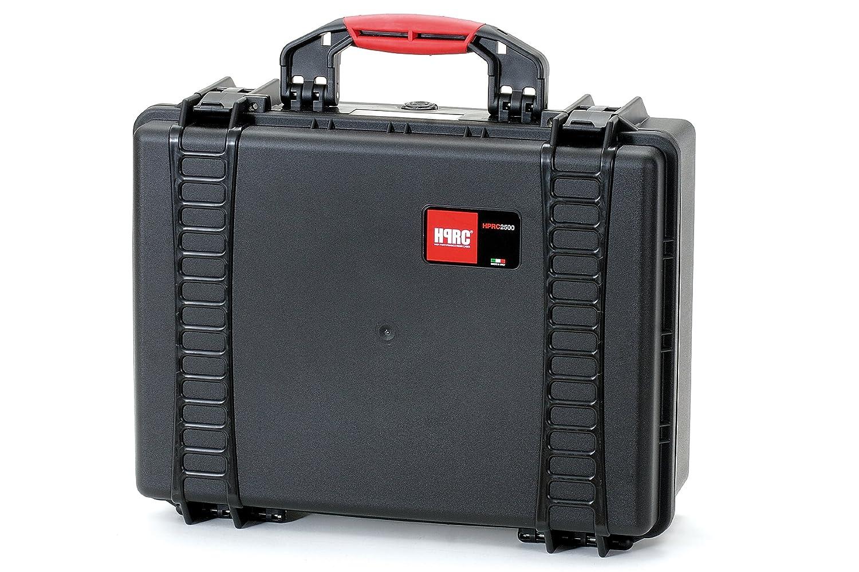 HPRC 2500E Hardcase (TX01 Material, 25 Liter Volumen, ohne Inhalt) schwarz