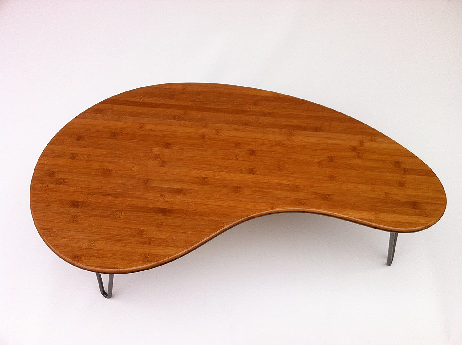 Boomerang Coffee Table Amazoncom Mid Century Modern Coffee Or Cocktail Table Kidney
