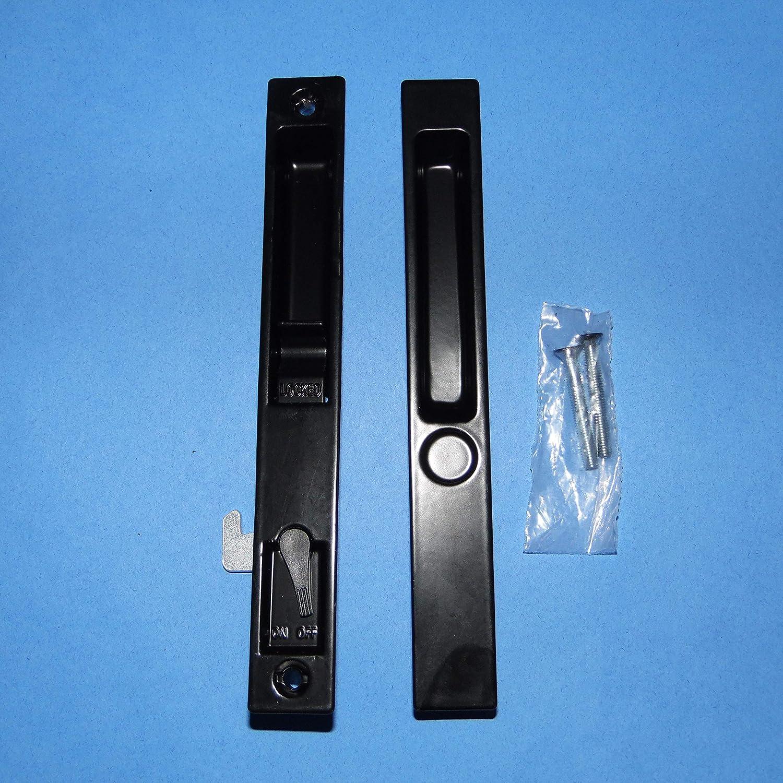 PGT 2500 Series Flush Mount Door Handle Black 13-433B
