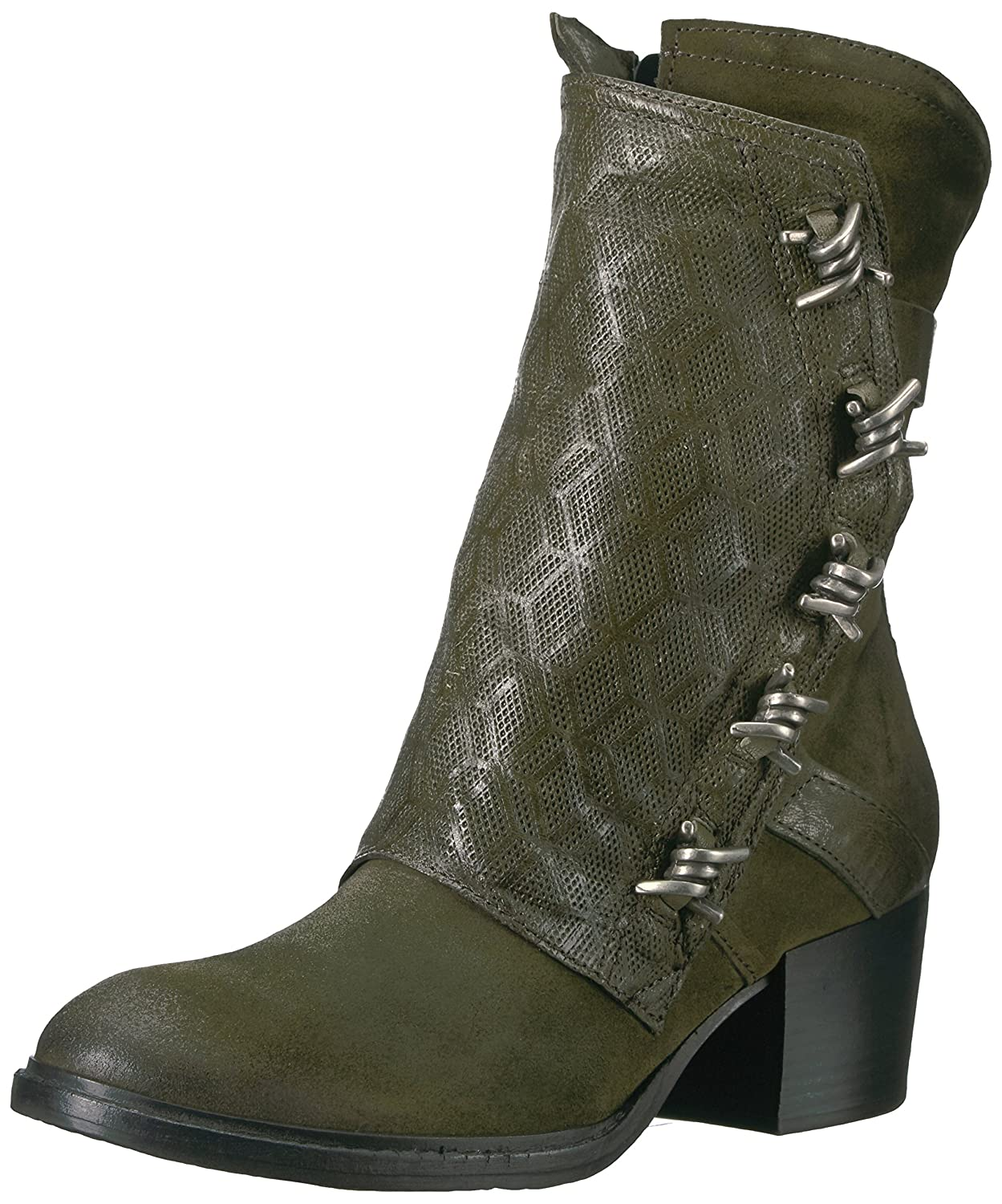 Miz Mooz Women's Tulia Fashion Boot B06XP5VNJT 39 M EU (8.5-9 US)|Army