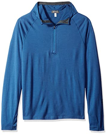 Ibex Outdoor Clothing Men's Indie Hoody, Small, Baltic