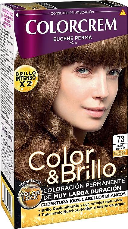 COLORCREM tinte Rubio Dorado Nº 73 caja 1 ud: Amazon.es: Belleza