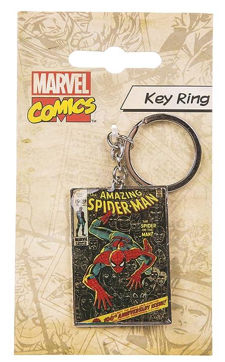 BB Designs Spiderman Comic Cover Metal Llavero: Amazon.es: Hogar
