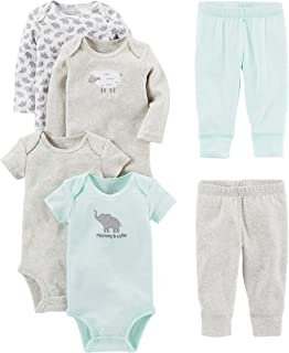 Simple Joys by Carter s Baby 5-Pack Long-Sleeve Bodysuit  Amazon.ca ... afdde9bd5a4f