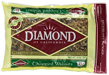 Diamond Chopped Walnuts, 14-Ounce