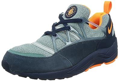 meet 3f37a 4c2b4 Nike Men s Air Huarache Light Midnight Navy Brght CTRS Blue Running Shoe 9