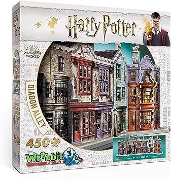 Wrebbit 3D-El Callejón Diagón Puzzle 3D, Multicolor (W3D-1010): Amazon.es: Juguetes y juegos
