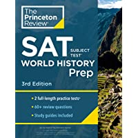 Princeton Review SAT Subject Test World History Prep, 3rd Edition: Practice Tests + Content Review + Strategies & Techniques
