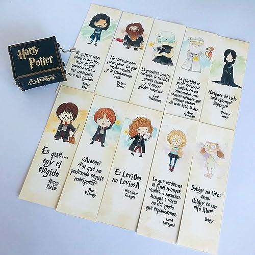 Pack 10 marcapáginas Harry Potter: Amazon.es: Handmade