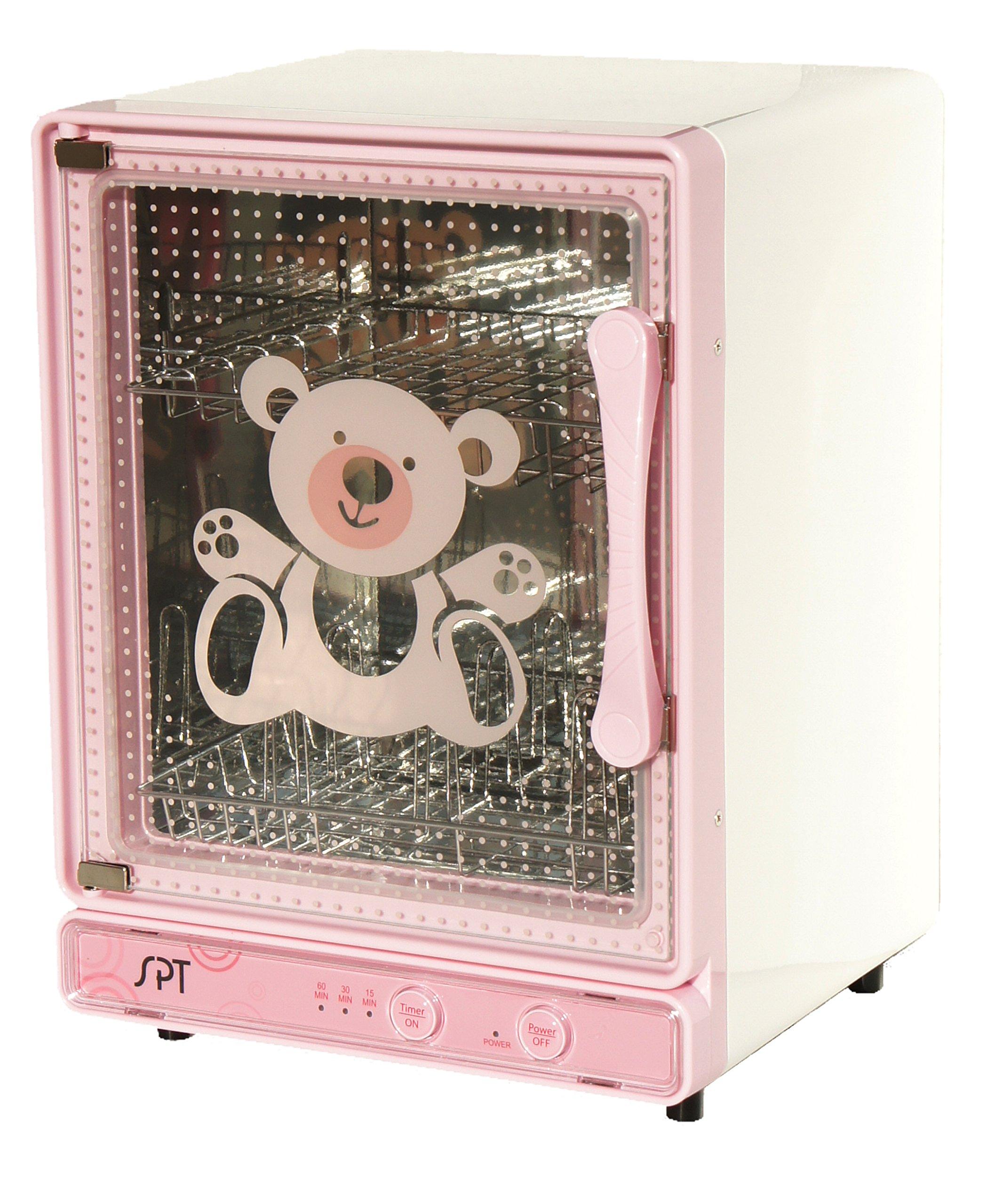 SPT SPT SB-818P Baby Bottle Sterilizer and Dryer, Pink
