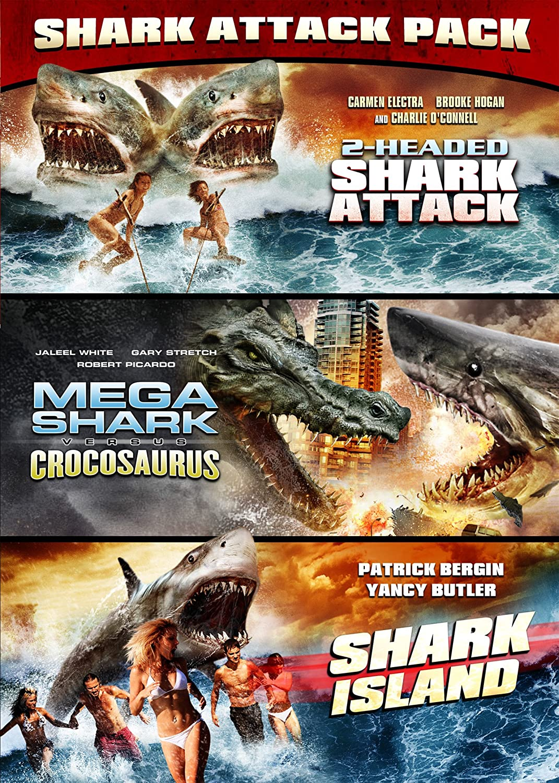 2 Headed Shark Attack / Mega Shark Vs. Crocosaurus DVD Region 1 US ...