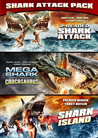 2 Headed Shark Mega Shark Vs Crocosaurus Shark Island