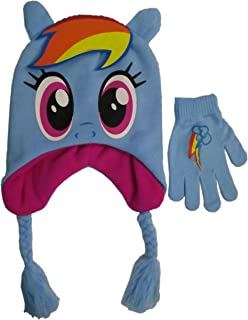 1ad07ae295b My Little Pony Girls  Scandinavian Winter Hat and Glove Set - Size 4-14