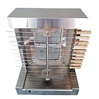 Elektrogrill silber XL Electro Grill Balkon Garten ✔ eckig ✔ Grillen mit Gas