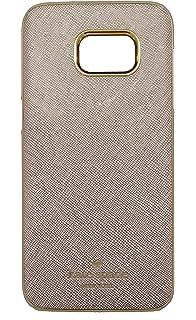 Kate Spade New York Wrap Case for Samsung S7 Edge in Saffiano Rose Gold  KSSA-