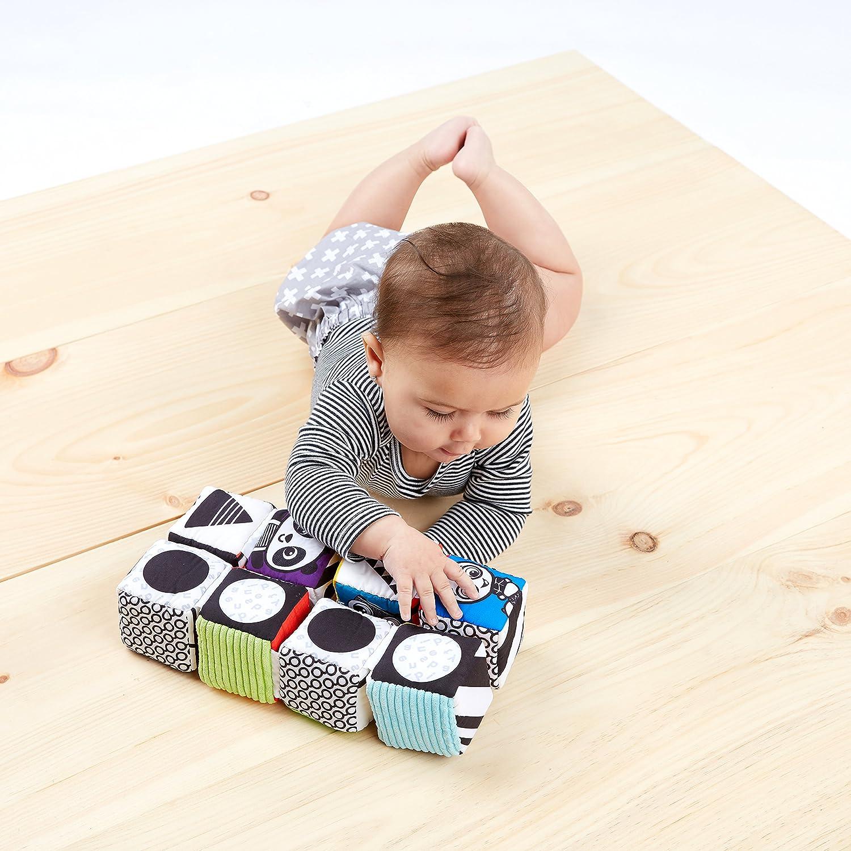 Baby Einstein Infinity Block High Contrast Soft Block Toy Newborns and up