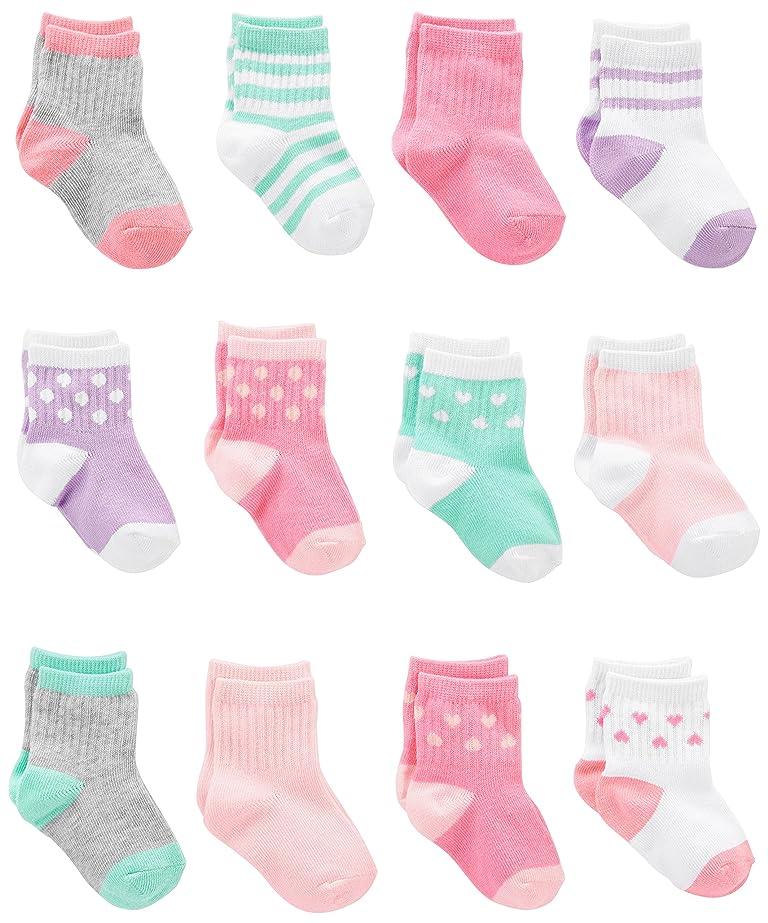Unisex Baby Girls SocksGellwhu 6 Pairs Toddler Boy Animal Knee High Socks