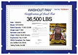 WASHOUTPAN PRO Certified Steel Containment
