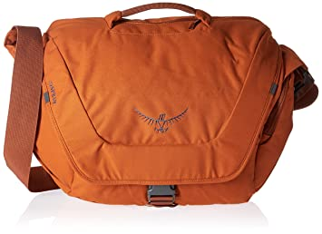 Osprey Mens Flapjack Courier Day Pack Burnt Orange Amazoncouk