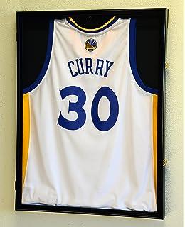 Amazon.com : Basketballl Jersey Frame Display Case Cabinet w/ 98% UV on trinity case, uniform display case, title case,