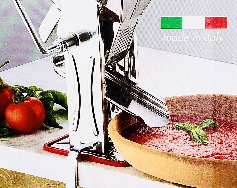 Prensa para tomates de gran tamaño para hacer salsa Fabricado en Italia.