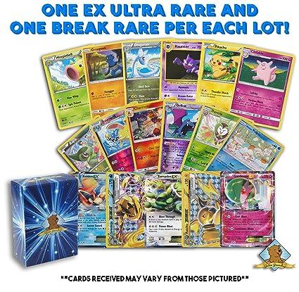 uncommons 1-2 Random lot of 15 Pokemon cards- Guaranteed rare and 1