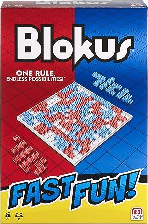 Mattel Games-Fast Fun Blokus, Juegos de Mesa para niños +7 años ...