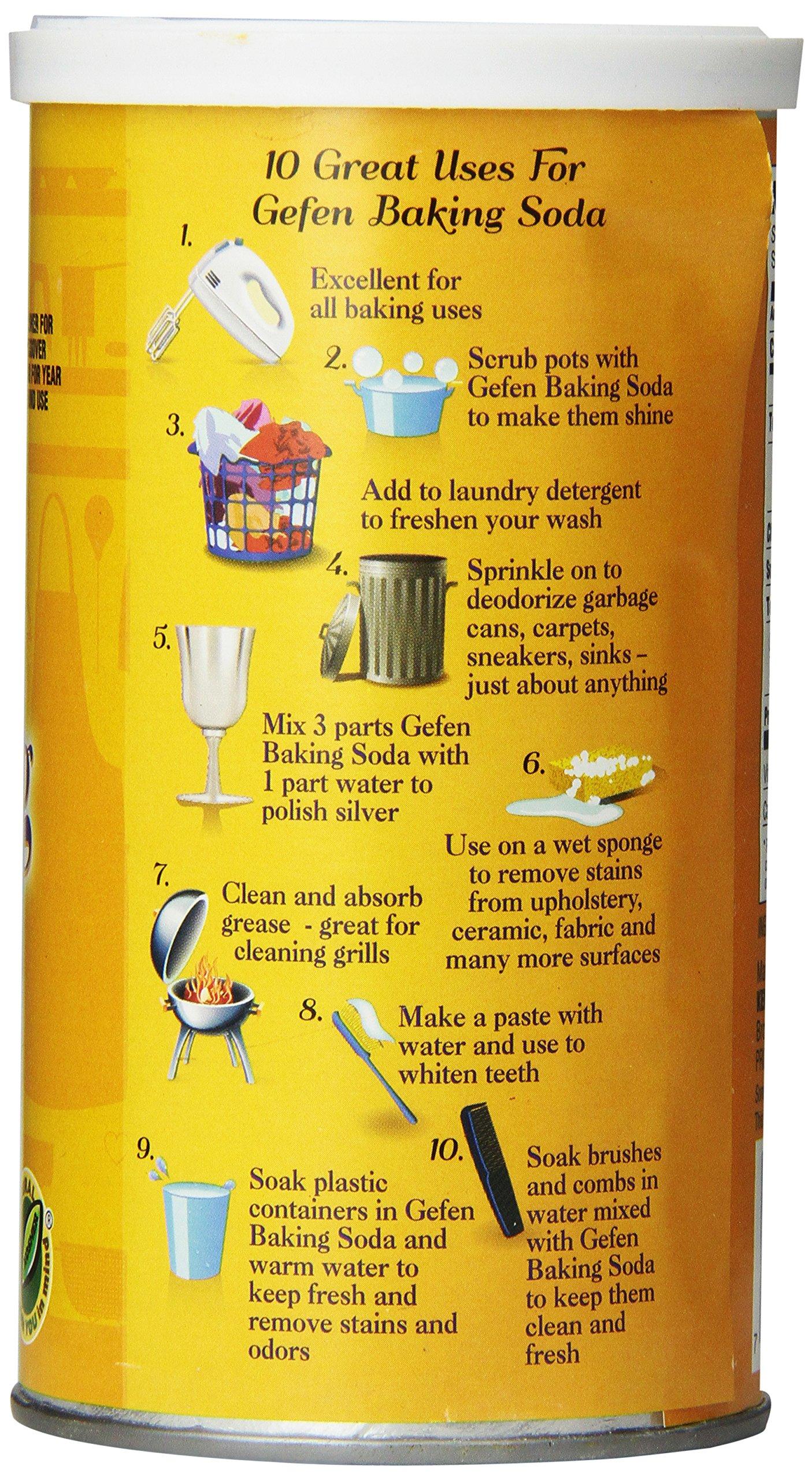 Gefen Baking Soda, 12 Ounce (Pack of 24) by Gefen (Image #4)