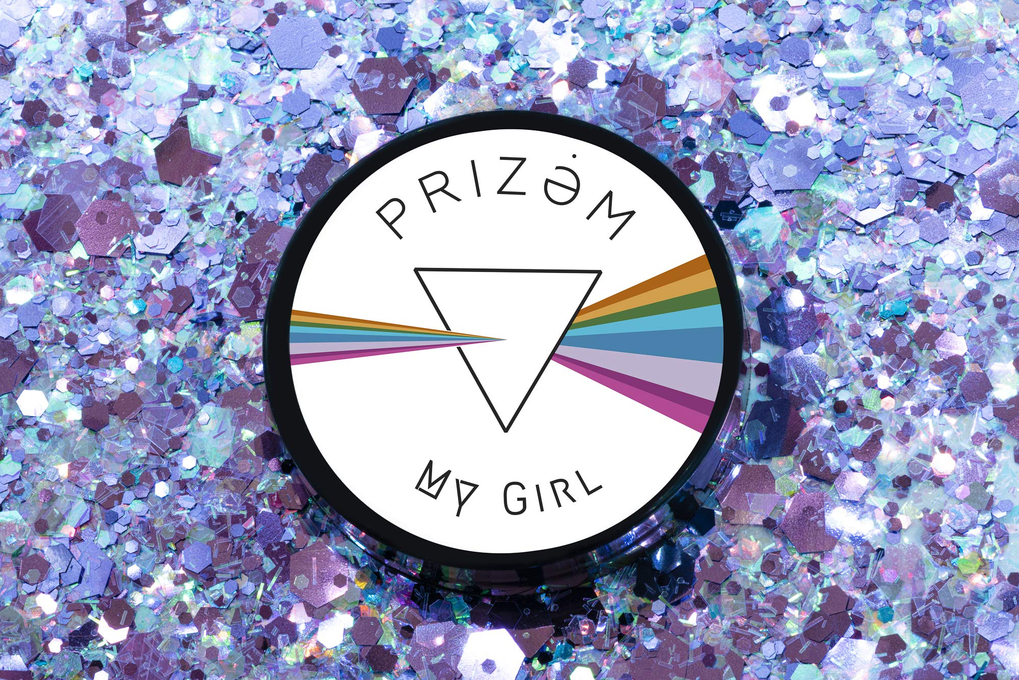 My Girl Glitter ▽ 60g ▽ Festival Glitter, Chunky Glitter, Makeup Glitter, Face Glitter, Body Glitter, Glitter Makeup, Hair Glitter, Cosmetic Glitter, Nail Glitter, Eyeshadow Glitter by Prizem