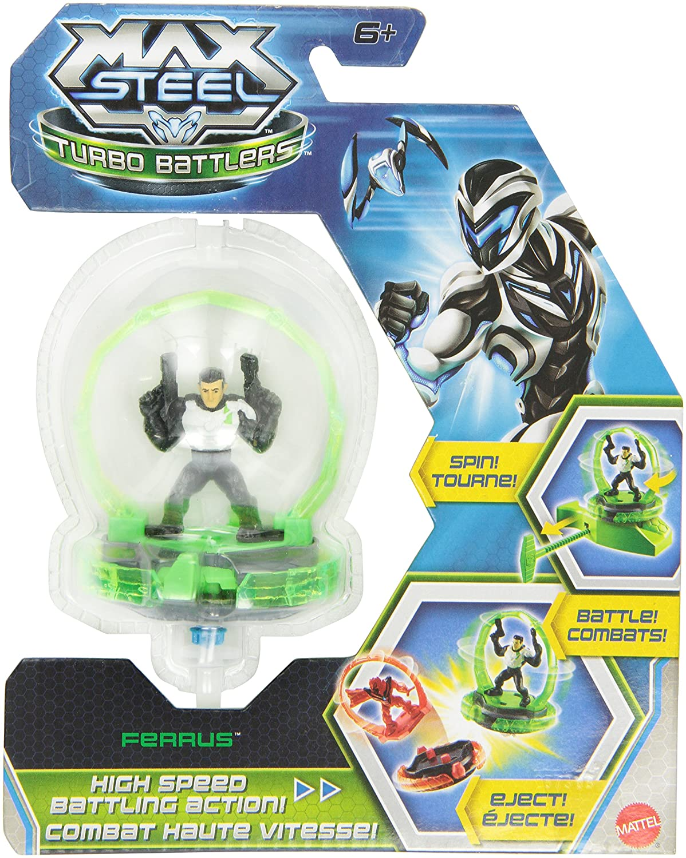 Mattel - Peonza de batalla Max Steel (Y1395): Amazon.es: Juguetes y juegos