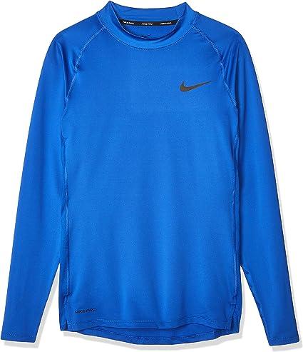 Nike M NP Top Ls Tight Mock T Shirt à Manches Longues Homme