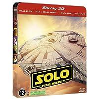 Solo : a Star Wars story - steelbook 3D + 2D + bonus [Blu-ray] [Combo Blu-ray 3D + Blu-ray + Blu-ray Bonus - Édition limitée boîtier SteelBook]