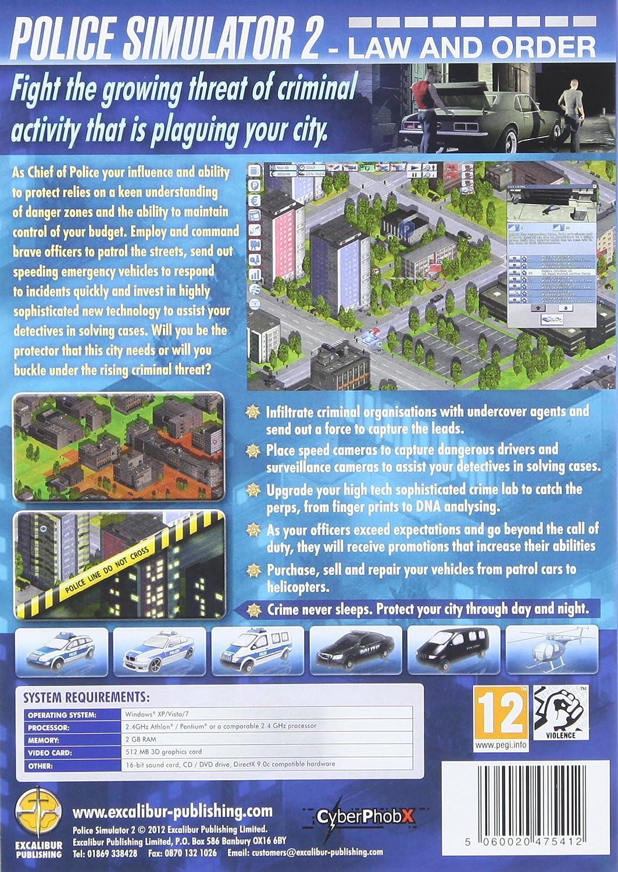 Police Simulator 2 Pc Cd Amazon Co Uk Pc Video Games