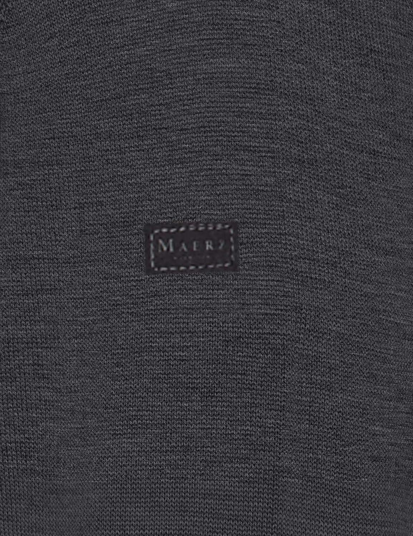 Maerz Herren Crew-Neck Pullover Grau (Grau 588)