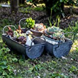 Lanperle Gardening Gifts Decorative Galvanized