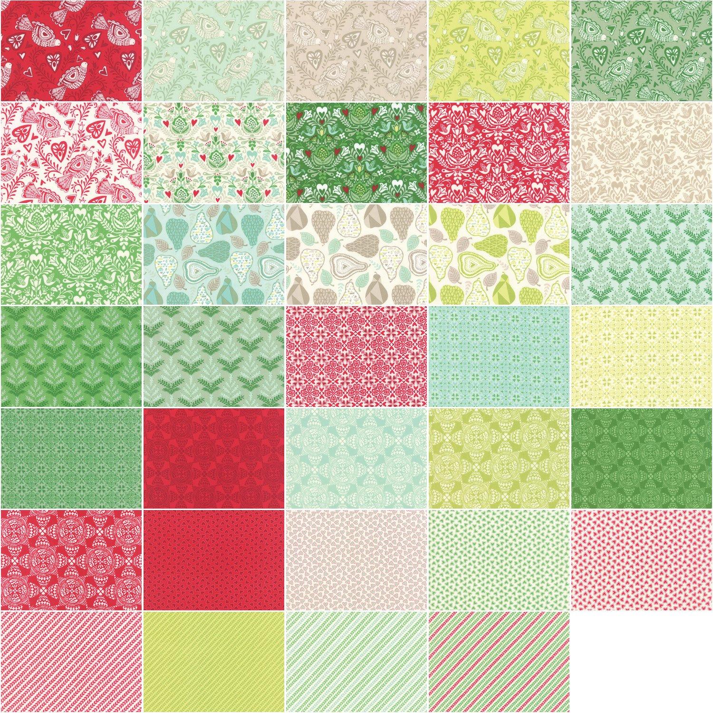 Kate Spain North Woods Jelly Roll 40 2.5-inch Strips Moda Fabrics 27240JR