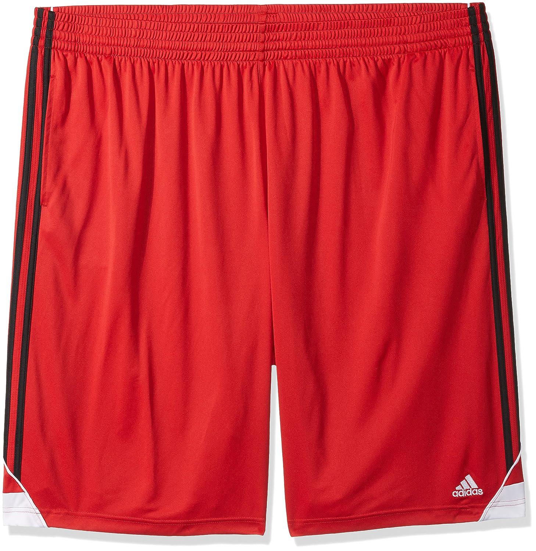 Adidasメンズ3Gスピード ビッグ&トール ショートパンツ B01N4G1IOC 5X-Large|スカーレット/ブラック スカーレット/ブラック 5X-Large