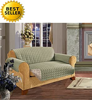 Reversible Furniture Protector! Elegant Comfort Luxury Slipcover Furniture  Protector Great for Pets   Children ede730f5ba