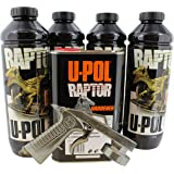 U-POL 0820V-GUN Black URETHANE Truck Bed Liner Kit With 726 Gun