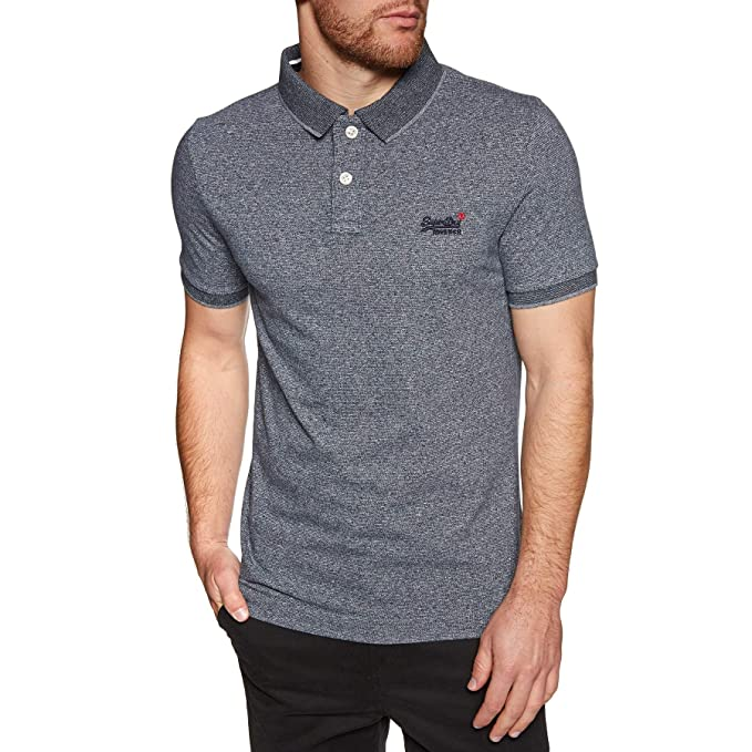 Superdry Classic S/S Jacqd - Polo para Hombre, Talla S, Color ...