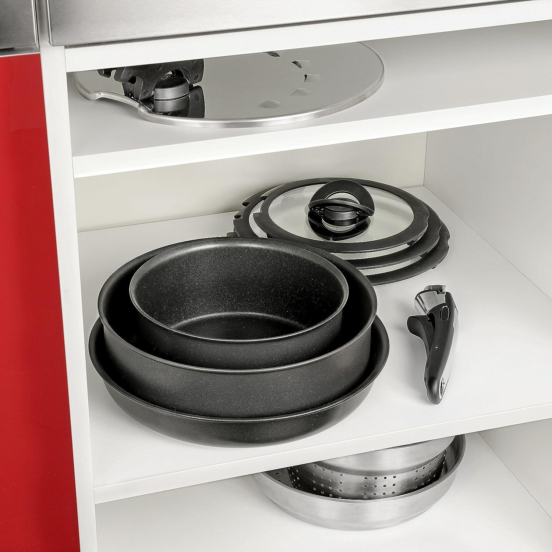 Tefal Ingenio Expertise L6509503/Set of 3/Saucepans 1/Handle Black 16//18//20/cm