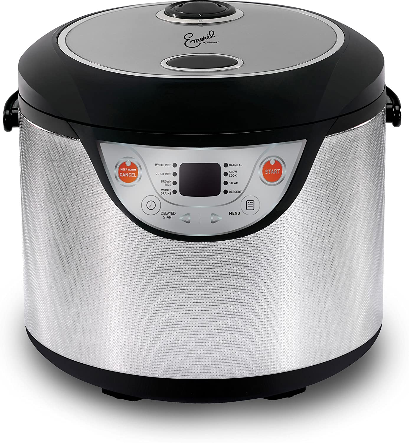 Emeril by T-fal RK302EUS 8-in-1 Multi Cooker and 10-Cup (Uncooked) Rice Coo